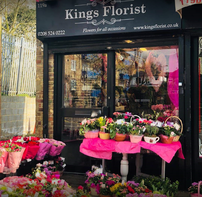 Flower delivery shop Chingford